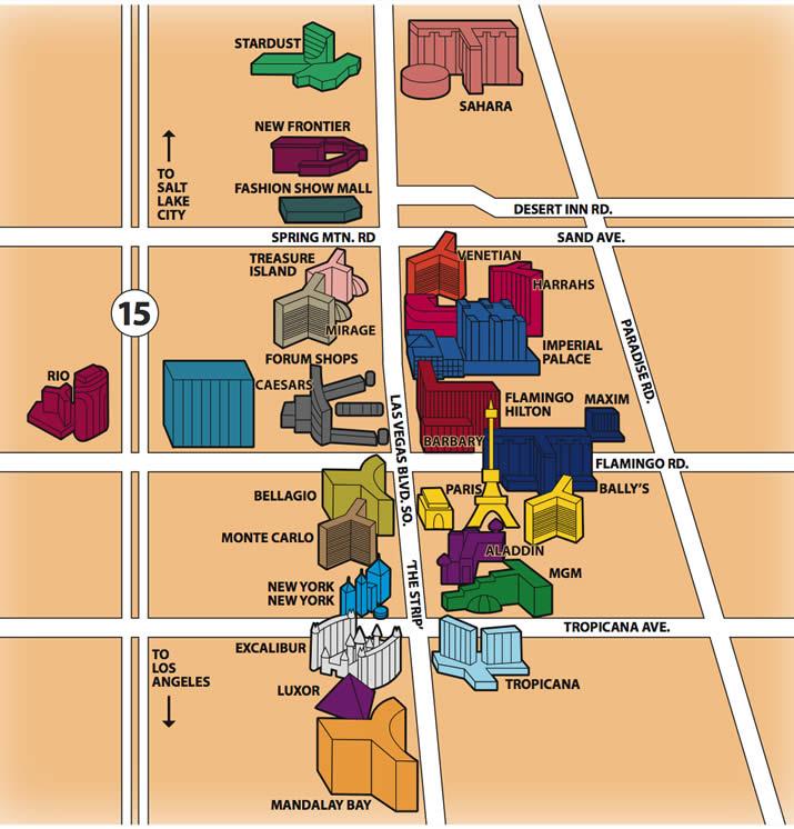 Etwas Neues genug City Spotlight: The Truth About the Las Vegas Strip | DaVinci &AB_01